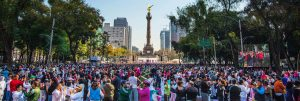 Naam Yoga Superclass in Mexico City Yoga for peace